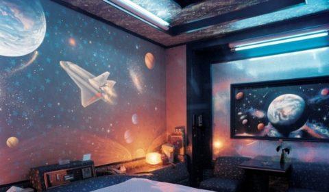 Как оформить комнату в космическом стиле