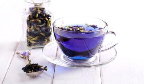 Уникальный синий чай